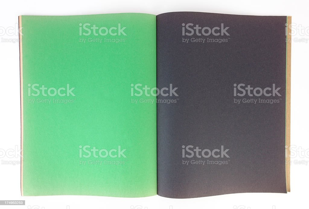 Blank Pages royalty-free stock photo