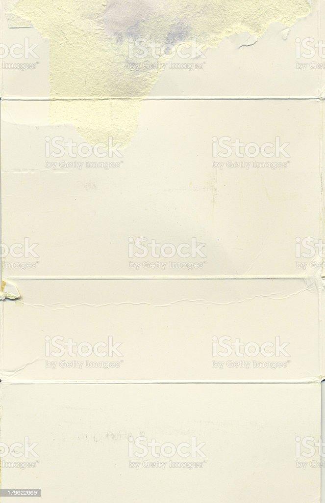 blank pamphlet royalty-free stock photo
