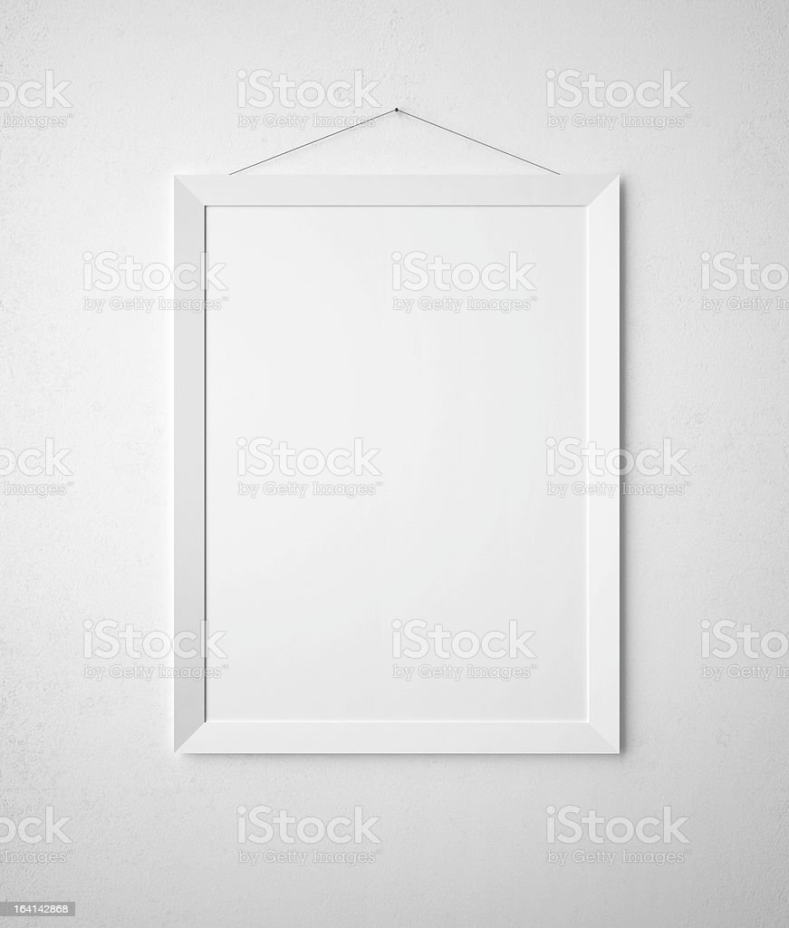 blank paper frame stock photo
