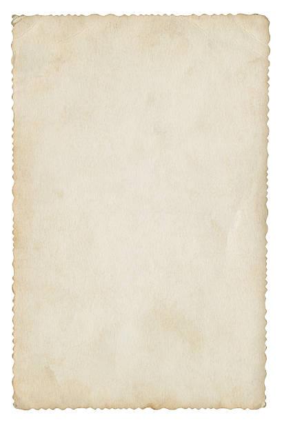 leere papier isoliert (clipping-pfad enthalten) - klapprahmen stock-fotos und bilder