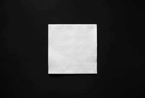 blankt papper servett - servett bildbanksfoton och bilder