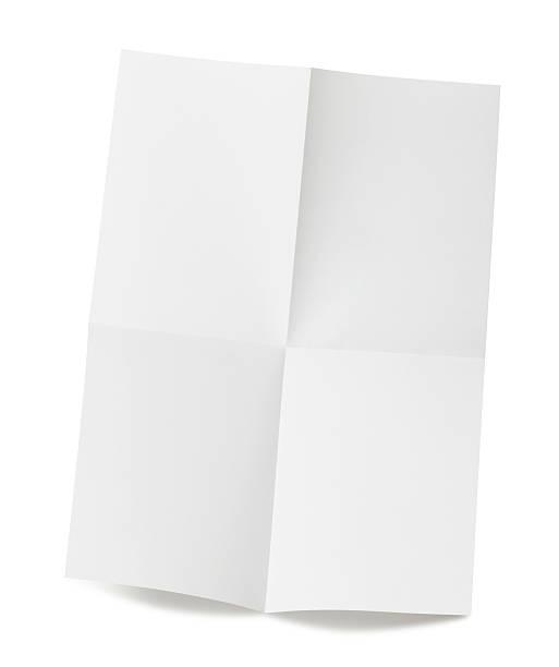Papel en blanco - foto de stock