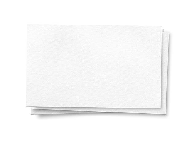 blank paper - gift tag note stock photos and pictures