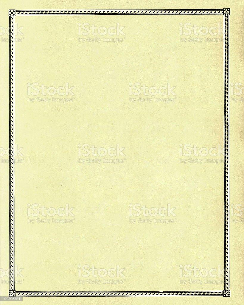 Blank paper - plain royalty-free stock photo
