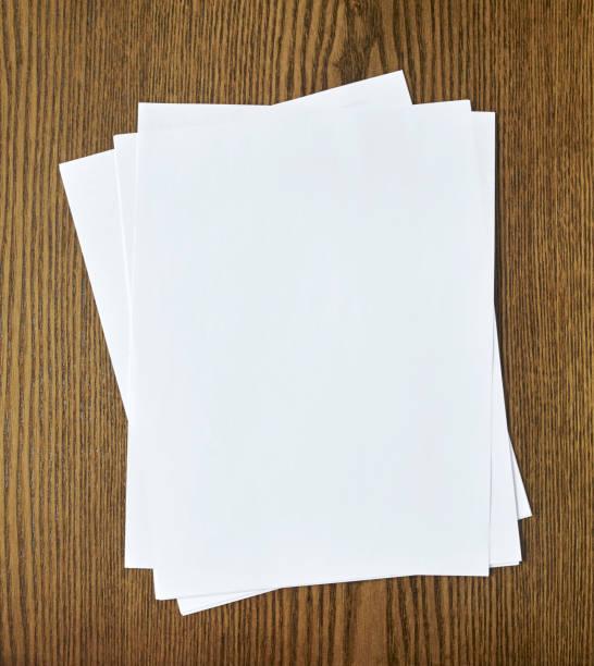Leere Papiere – Foto