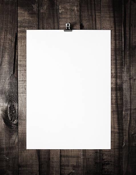 Plantilla en blanco de papeleo - foto de stock