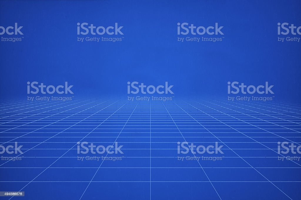 Blank perspective blueprint template stock photo istock blank perspective blueprint template royalty free stock photo malvernweather Images