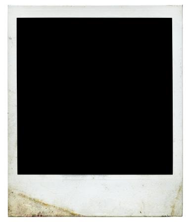 Vintage polaroid frame 1970s