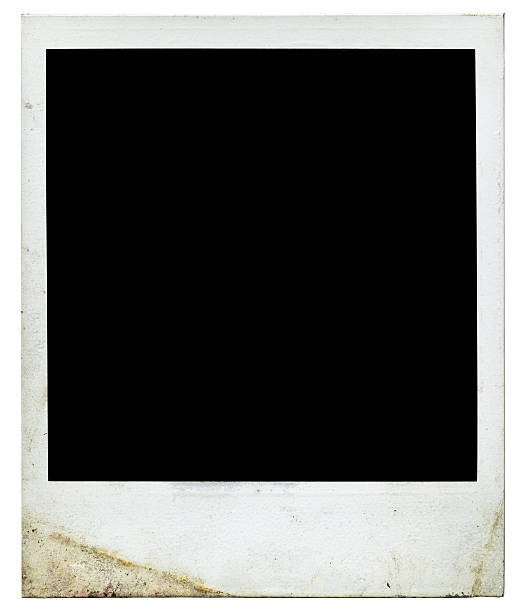 Blank photo 1970s (Authentic polaroid with lots of details)