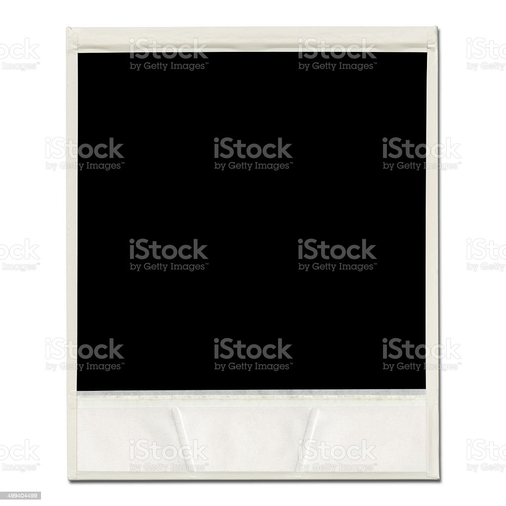 Blank Photo Frame. stock photo