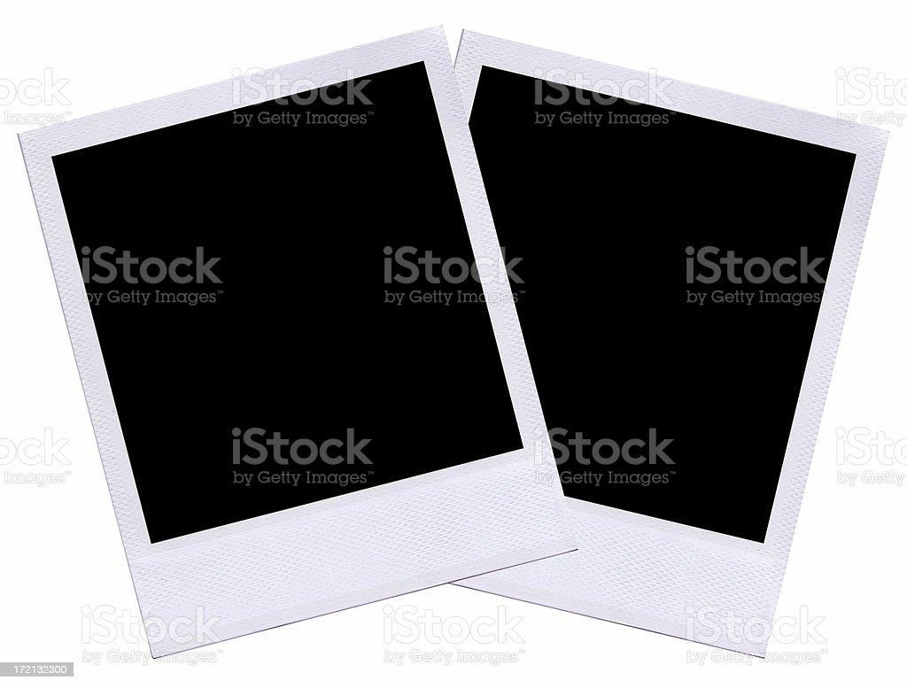 Blank Photo Layout royalty-free stock photo