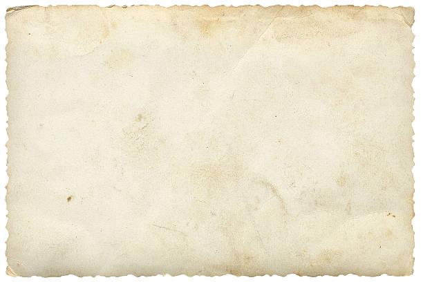 Blank Photo On White Stock