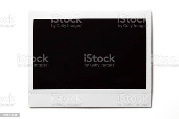 Leere Fotos Auf Weiß Stockfoto und mehr Bilder von Bilderrahmen