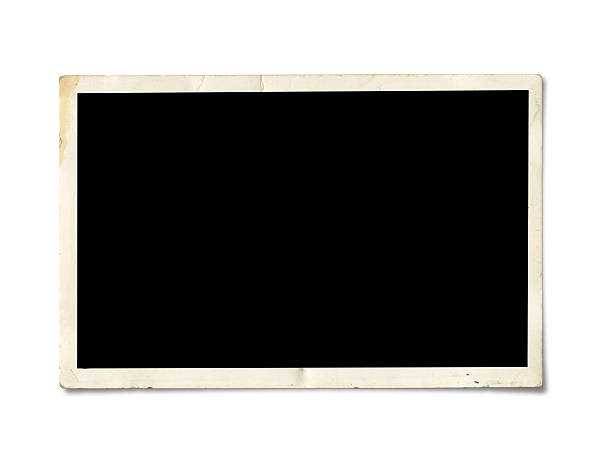 blank photo paper - the past stock photos and pictures