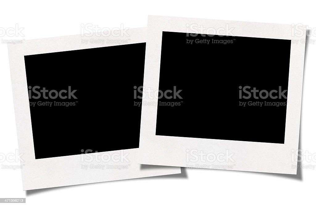 Blank photo stock photo