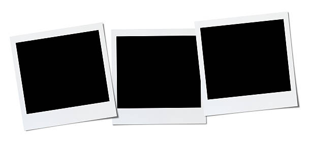 blank photo - three objects stock pictures, royalty-free photos & images