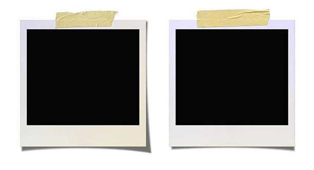 vuoto foto - polaroid foto e immagini stock