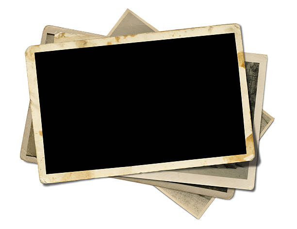 Blank photo Old photo 20th century style stock pictures, royalty-free photos & images