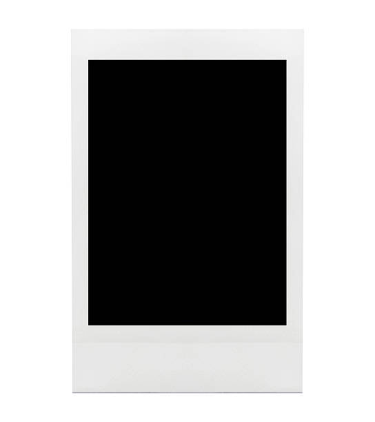 blank photo - polaroid stockfoto's en -beelden