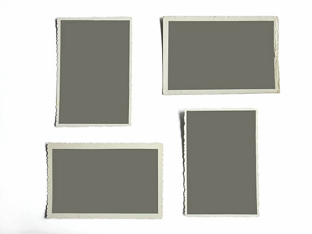 blank photoframes stock photo