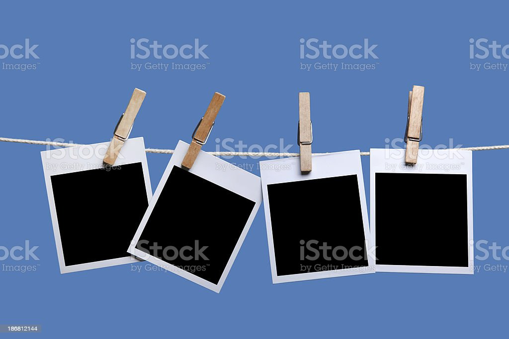Blank photos royalty-free stock photo