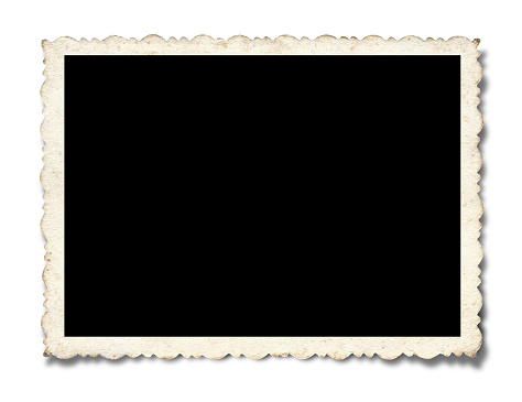 istock Blank Picture Frame textured(Clipping path!) isolated on white background 172448351
