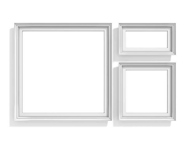 puste zdjęcie ramki. internetowej tło wzór. golden prostokątne stosunek - golden ratio zdjęcia i obrazy z banku zdjęć