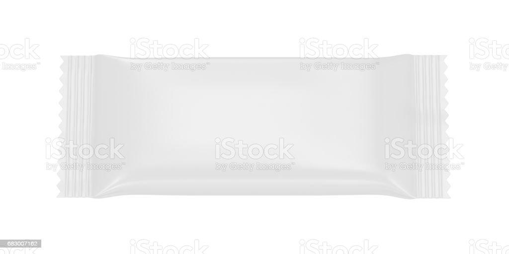 Blank plastic packaging foto de stock royalty-free