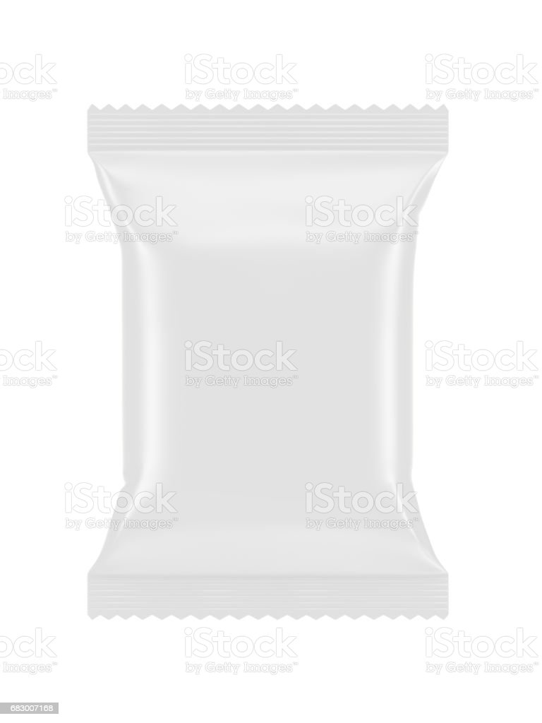 Blank plastic packaging royalty-free stock photo