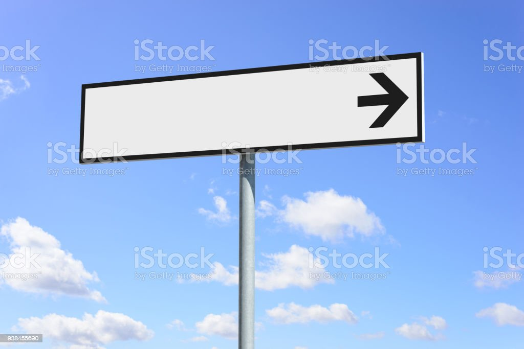 Blank plates to put your information. stock photo