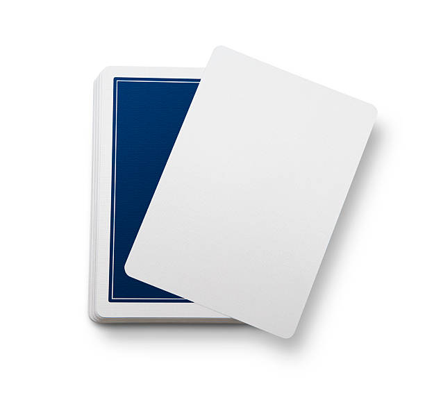 Blank Jeu de cartes - Photo