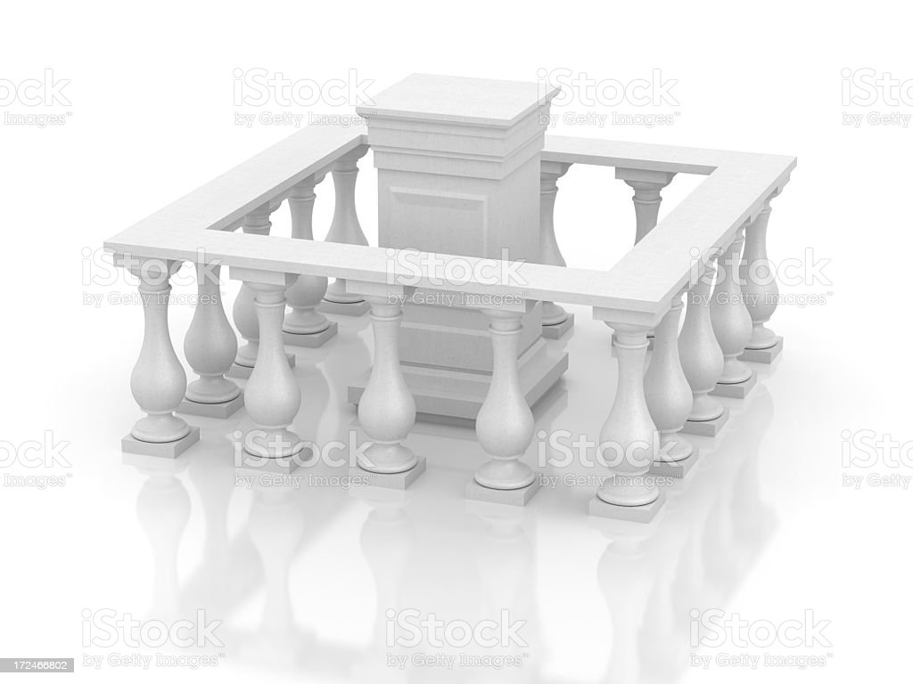 Blank Podium royalty-free stock photo