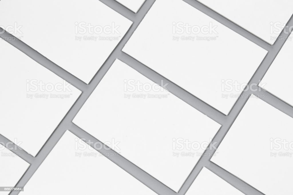 Blank portrait A4. brochure magazine isolated on gray, changeable background / white paper isolated on gray. Mock-up of blank white paper for display your product montage or artwork. stock photo