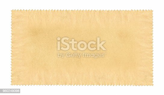 Blank postage stamp paper textured background