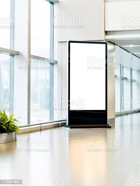 Blank poster kiosk in airport corridor picture id1133578627?b=1&k=6&m=1133578627&s=612x612&h=dibdns 4cnvmfj2peffmsb6bhko4vi8nnsl4bg k8bg=