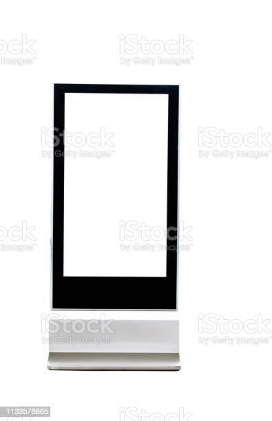 Blank poster kiosk on white background picture id1133578665?b=1&k=6&m=1133578665&s=612x612&h=xvwz0puqxwlez7tribo0yfc8sm9c1jpqqirgnv fy18=