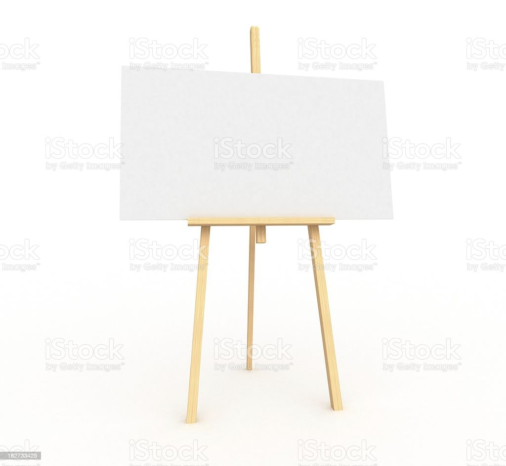 blank poster royalty-free stock photo