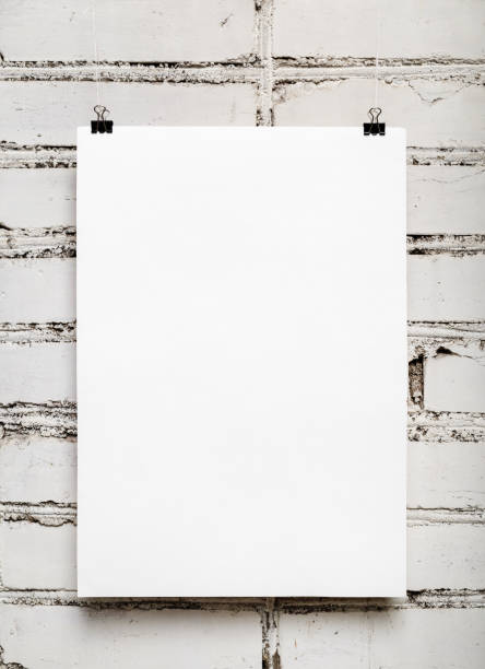leere poster - sprüche kalender stock-fotos und bilder