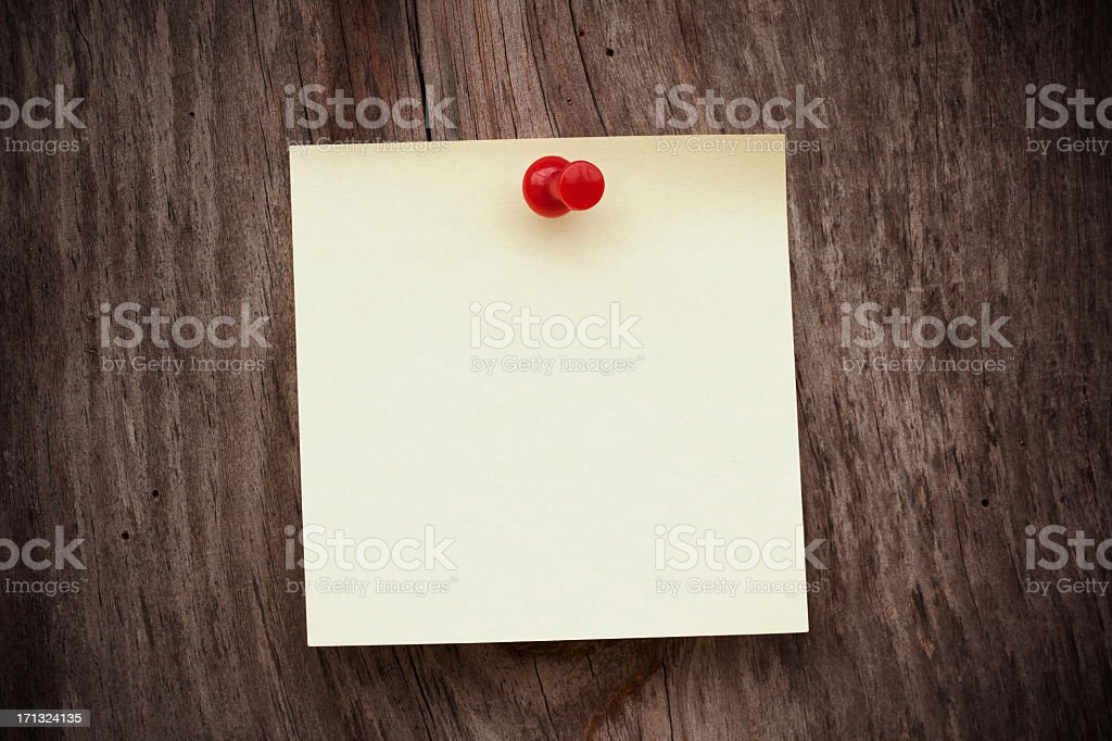 Blank post-it note background textured royalty-free stock photo