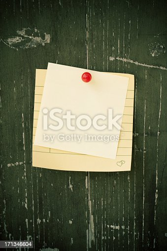 990092558 istock photo Blank post-it note background textured 171346604