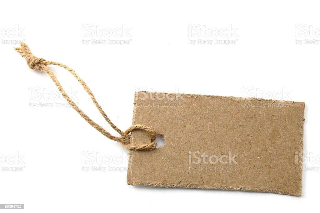 blank price tag - Royalty-free Blank Stock Photo