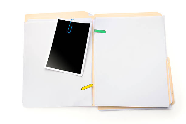 Blank Profile stock photo
