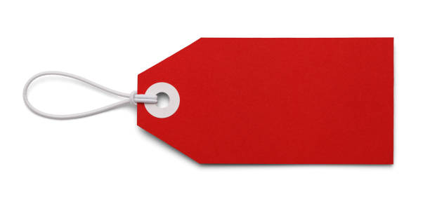 blank red tag - label stock pictures, royalty-free photos & images