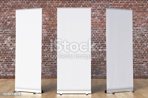 istock blank roll up banner display stands loft interior 1015414518