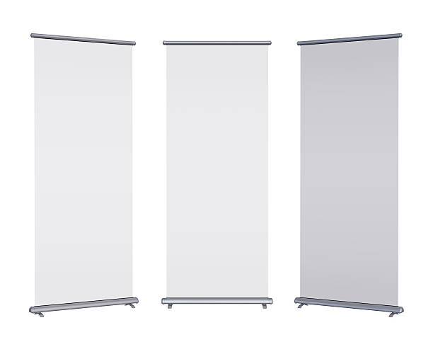 Leere roll-up banner – Foto