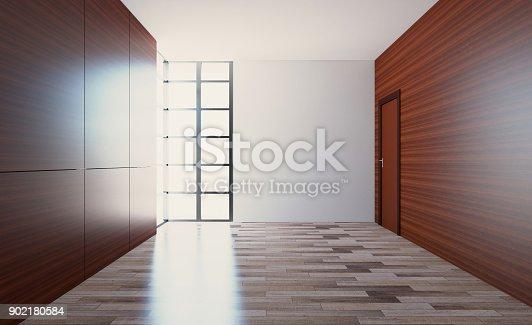 istock Blank room. 902180584