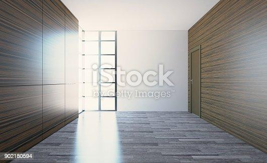 istock Blank room. 902180594