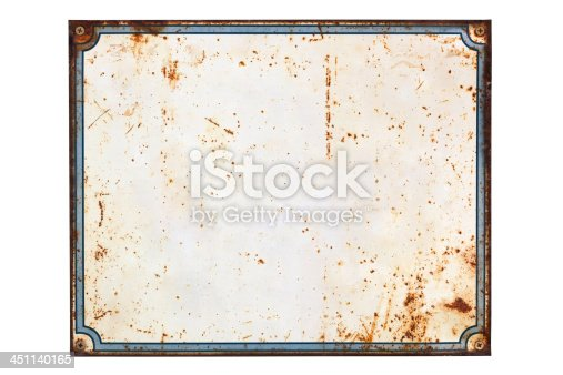 blank rusty retro sign stock photo istock