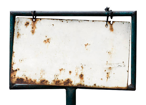 Blank rusty sign  rusty stock pictures, royalty-free photos & images