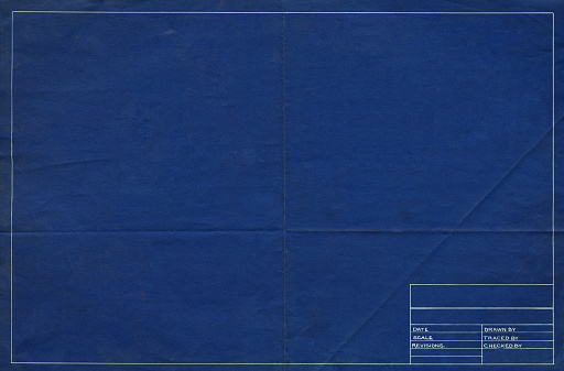blank blueprint texture background